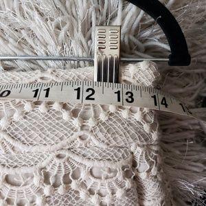 Express Shorts - Express Highwaist Lace Shorts Ivory Size 2 F2
